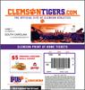 Bild von ClemsonTigers Tickets PDF Generator
