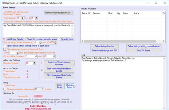 Immagine di FlashSeats to TicketNetwork Tickets Seller